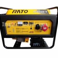 Трехфазный генератор Rato R6000D-T с электростартером