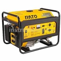 Однофазный генератор Rato R6000D